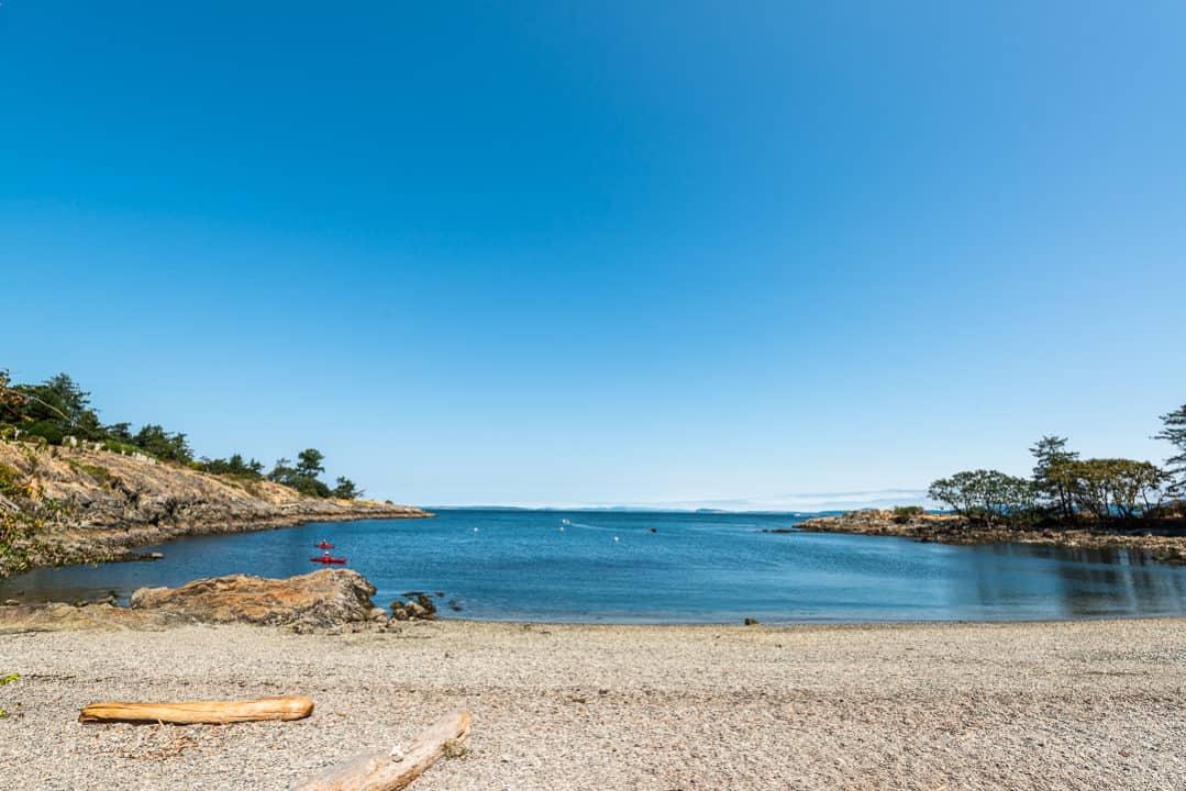 Beautiful day at Telegraph Cove, Victoria.