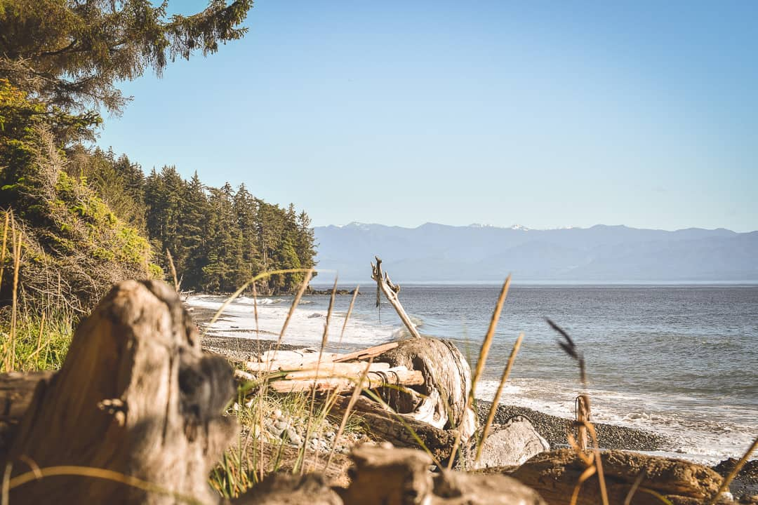 Beautiful Day at French Beach, Vancouver Island.